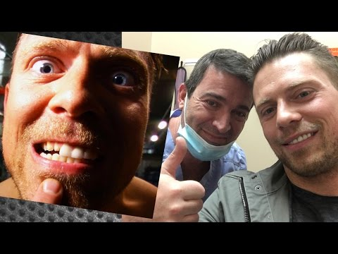 The Miz's teeth are repaired after AJ Styles broke them on SmackDown