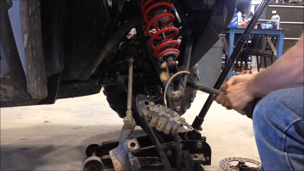 how To Change The differential Seal On a RZR 800  YouTube