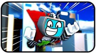 Becoming A Powerful Superhero - Roblox Super Power Training Simulator
