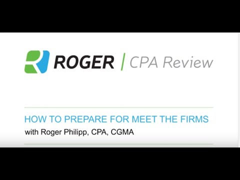 How to Prepare for Meet the Firms