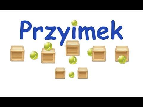 Nauka Dzieci Przyimek POLSKI - YouTube