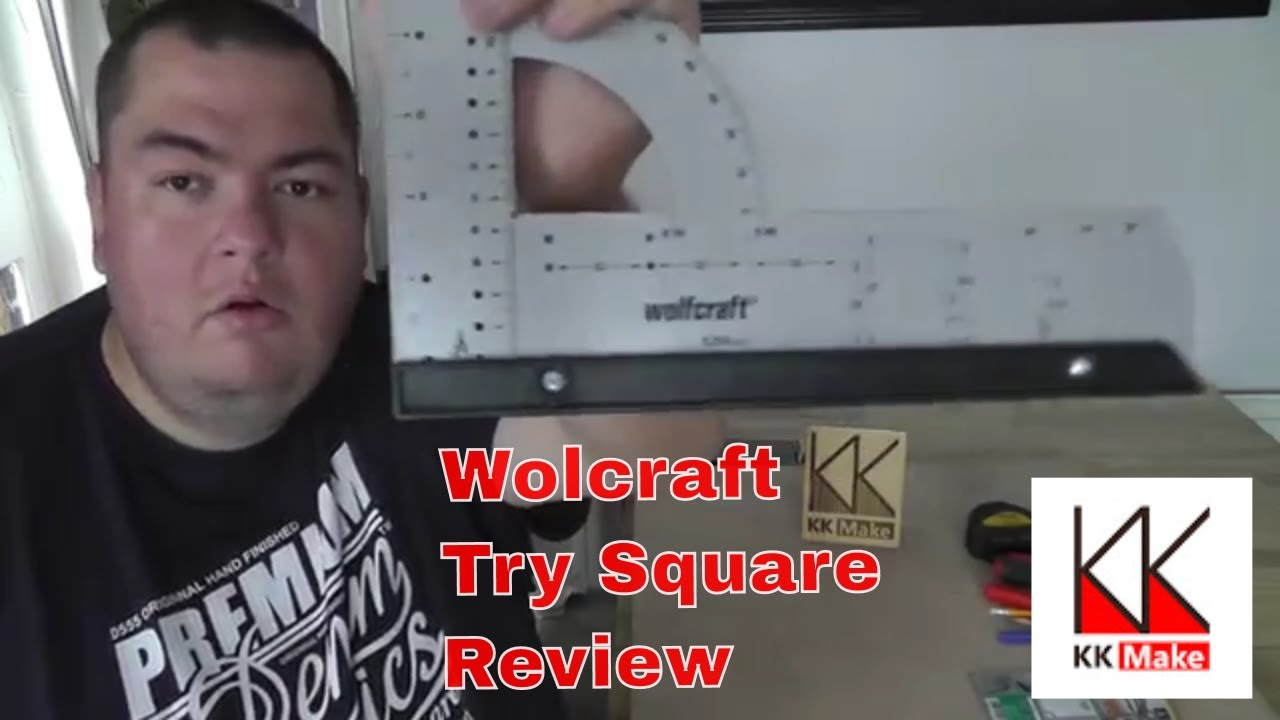 Wolfcraft 5205000 Try Square 300 mm Universal Angle