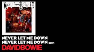 Never Let Me Down Never Let Me Down 1987 David Bowie