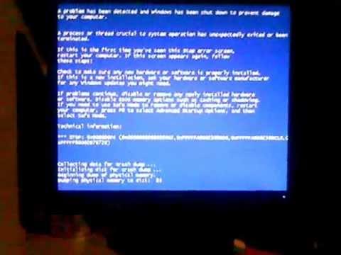 How To Crash Windows 7 Or Vista