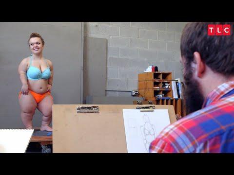 Check Out Michelle, A Creative Artist & Couregous Sketch Model