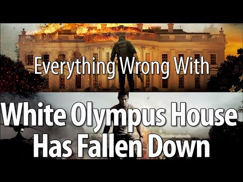 Everything Wrong With White Olympus House Has Fallen Down poster