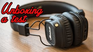 Marshall Major II Bluetooth (unboxing a test)
