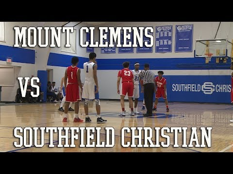 Basketball: Mt Clemens Battling Bathers vs Southfield Christian Eagles