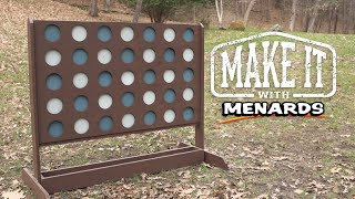Four In a Row Yard Game - Make It With Menards