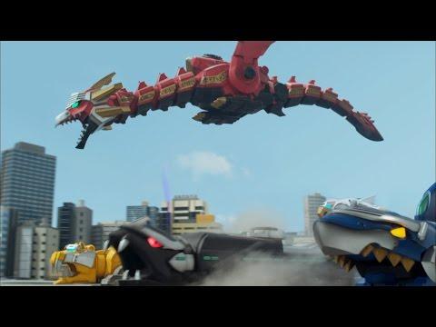 Power Rangers Megaforce - Harmony And Dizchord - Megazord Fight | Episode 6