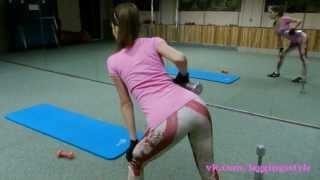 тренировка для похудения для девушек. круговая тренировка для дома и для тренажерного зала.