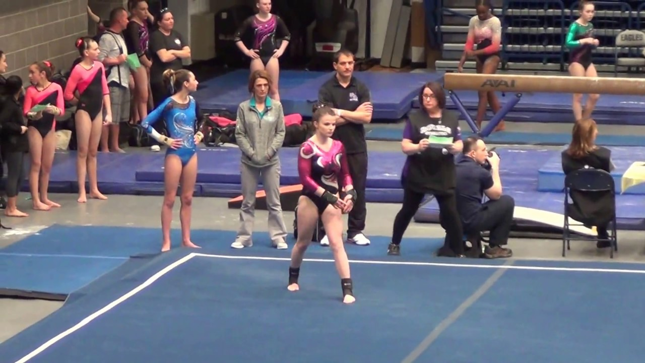 Gymnastics Level 7 Floor Routine - Virginia State Championship ...