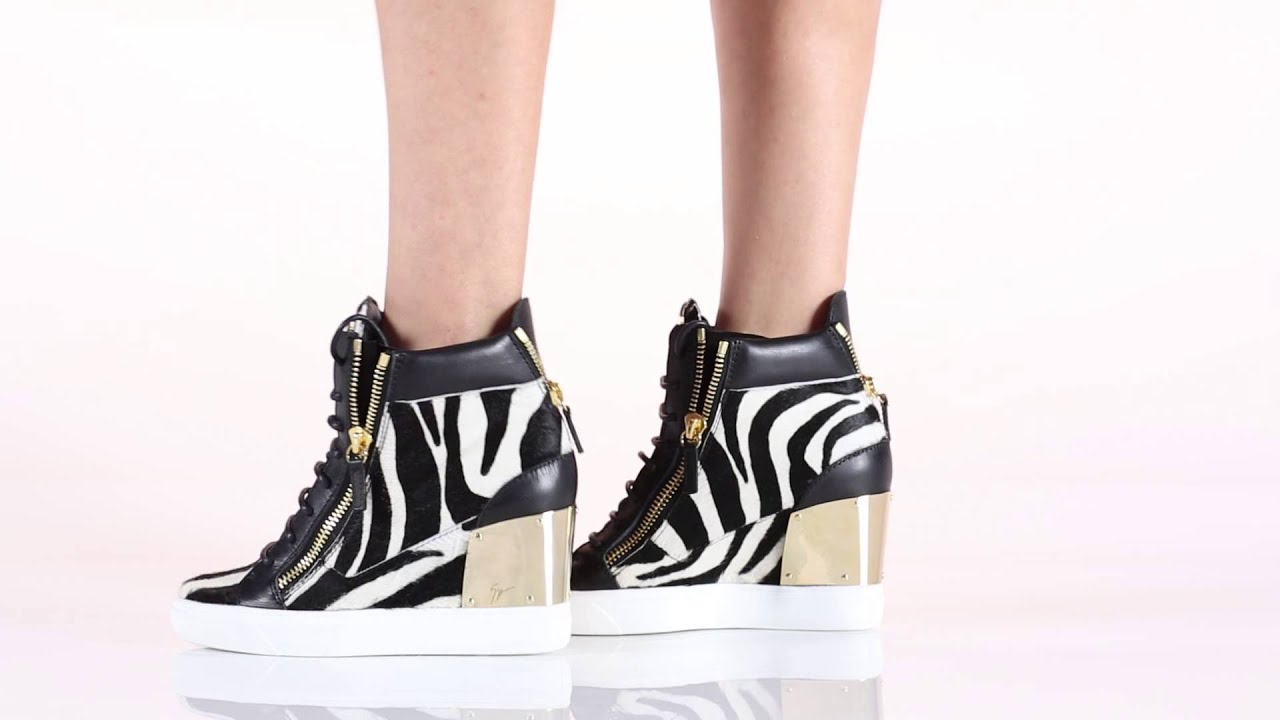 Giuseppe Zanotti Design Sneakers: RDW318001 - YouTube