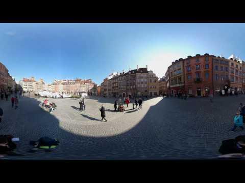 Starówka W Warszawie ( 360° VR Video) - Old Town In Warsaw ( 360° VR Video)