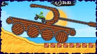 Moto X3M 3 Bike Race Game ATV Ride Mobile Gameplay Level 1-20