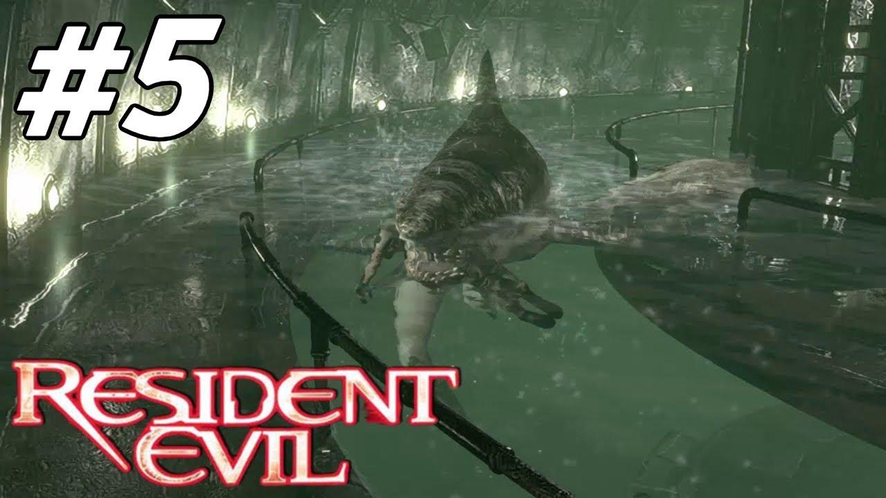 ზვიგენი ZOMBIE  ები  ვითამაშოთ Resident Evil HD Remaster Jill Walkthrough ნაწილი 5  ქართულად