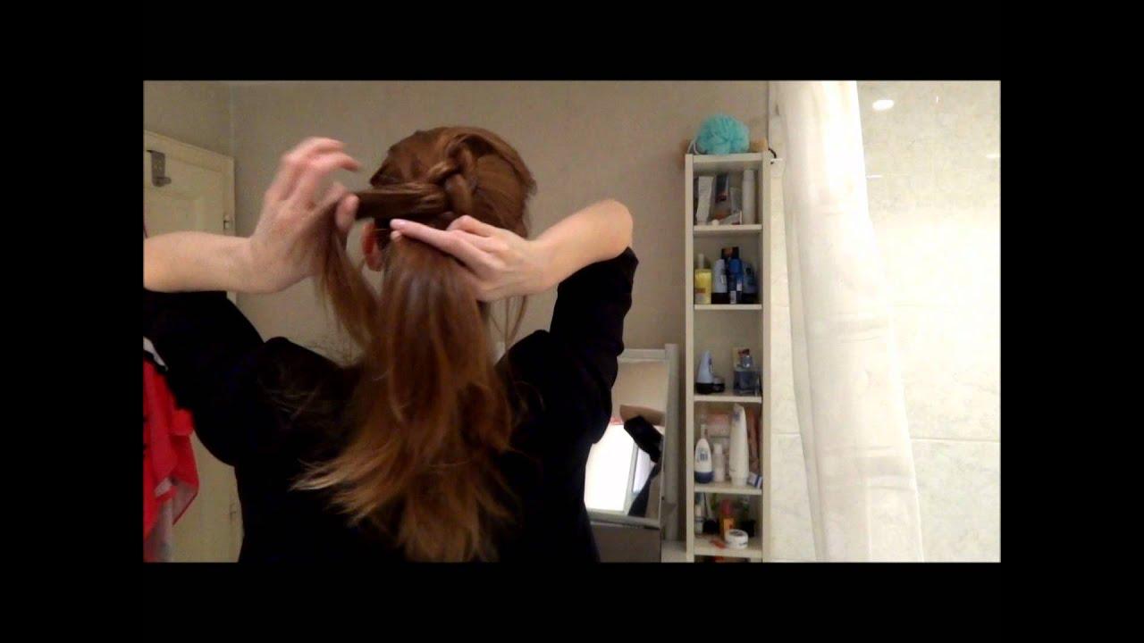 6 coiffures simples et rapides r aliser youtube. Black Bedroom Furniture Sets. Home Design Ideas