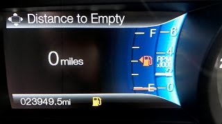 "How far can you ACTUALLY drive on ""0 miles to empty"" ?"