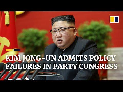 North Korea: Kim Jong-un admits failures in economic plan as he kicks off party congress