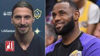 Zlatan Ibrahimovic: Like LeBron James, I move like a ninja | Pardon The Interruption | ESPN