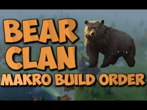 Northgard Bear clan makro build order (Northgard build order)
