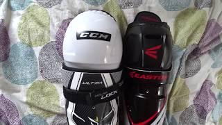 Хоккейные щитки. Дорогие vs дешевые.