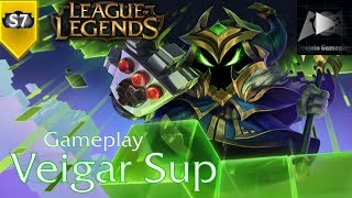 Veigar Sup | League of Legends - S7 | Gameplay (PT-BR)
