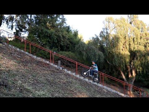 Lithium Cycles Super 73 // Ebike Stair Climb