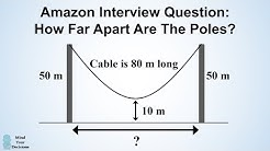 How To Solve Amazon's Hanging Cable Interview Question