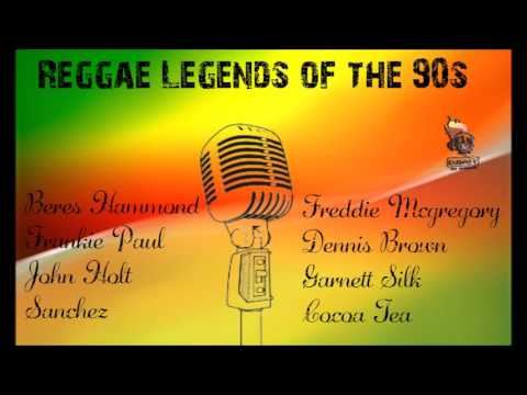 Reggae Legends of the 90s Mixtape Beres Hammond,Sanchez,Dennis Brown,John Holt,Frankie Paul,Freddie,