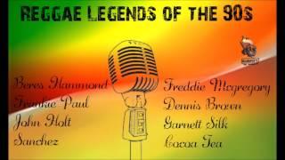 Reggae Legends of the 90s Mixtape Beres Hammond,Sanchez,Dennis Brown,John Holt,Frankie Paul,Freddie,