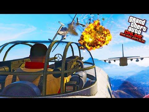 GTA 5 SMUGGLER'S RUN DLC MONEY GRIND - MADE $15,000,000 For GTA 5 SMUGGLER'S RUN UPDATE (4K Stream)