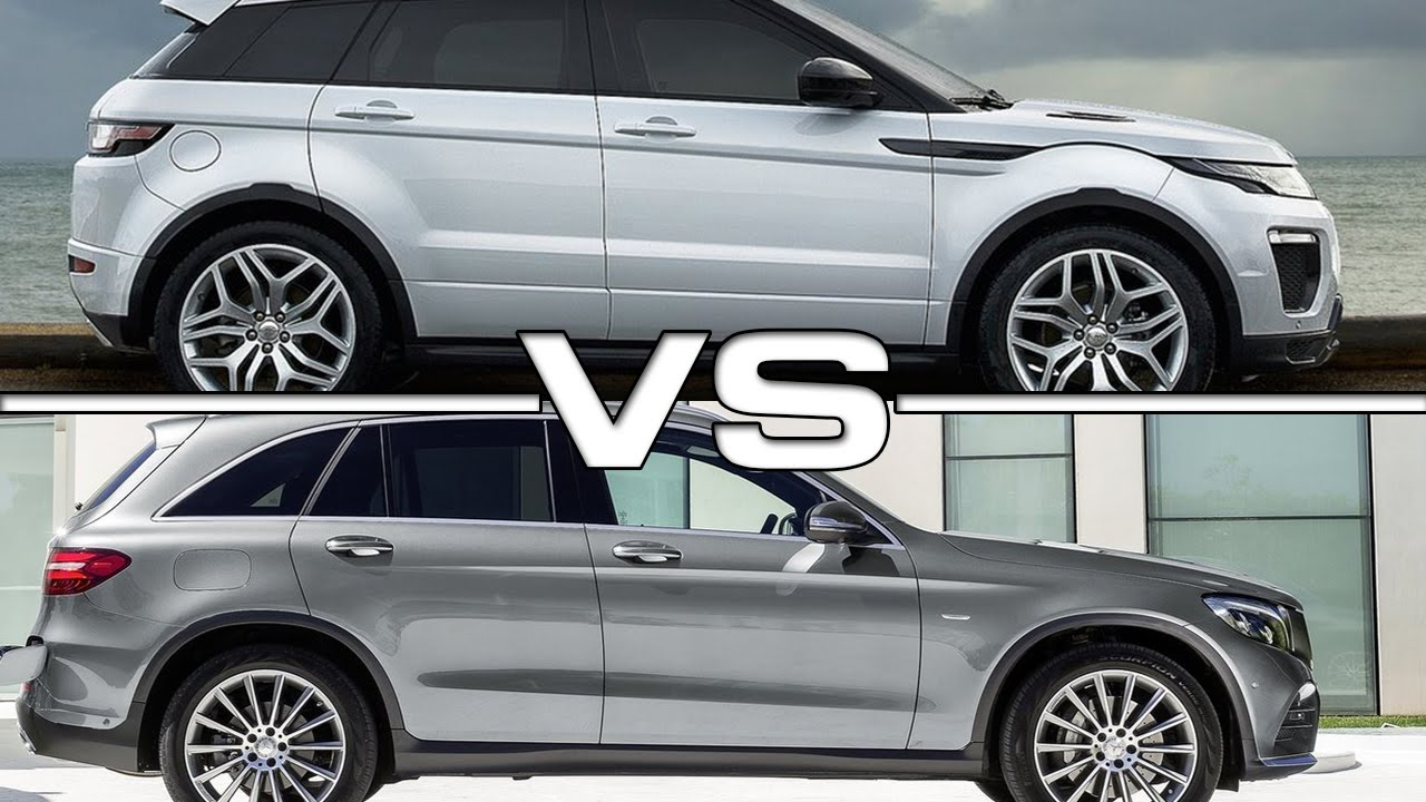 2016 range rover evoque vs 2016 mercedes glc youtube. Black Bedroom Furniture Sets. Home Design Ideas