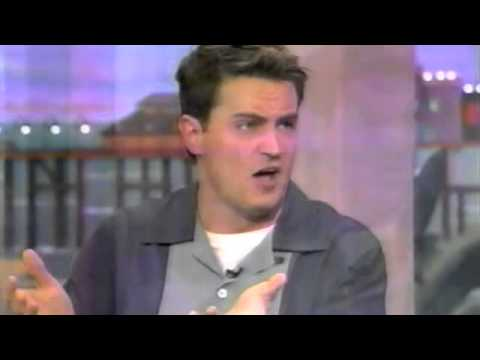 Matthew Perry on the Rosie O'Donnell Show