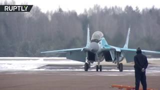 شاهد..احدث مقاتلات الجيل الرابع الروسية