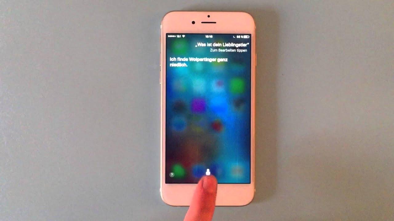 lustige siri fragen antworten apple iphone 6s youtube. Black Bedroom Furniture Sets. Home Design Ideas