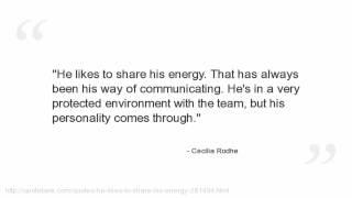 Cecilia Rodhe Quotes