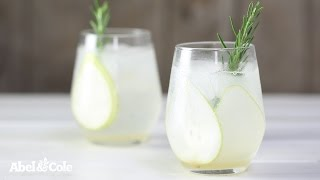 Pear And Rosemary Gin & Tonic | Abel & Cole
