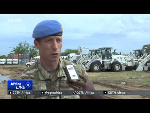 35 British soldiers arrive in Juba to boost UN mission