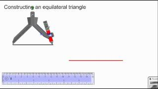 Geometry   construction   construct an equilateral triangle