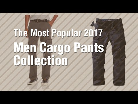 Men Cargo Pants Collection // The Most Popular 2017