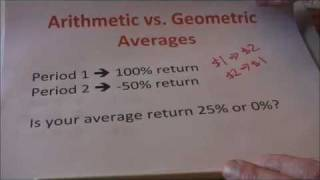 Geometric vs. Arithmetic Average Returns