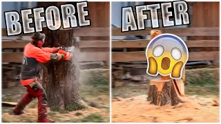 Master Of Chainsaw - Amazing Fastest Wood Carving Skills With Chainsaw