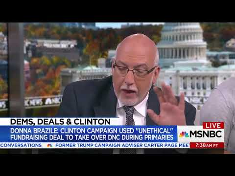 Bernie's Fmr Campaign Manager Won't Say If DNC Chair Tom Perez Is In Trouble