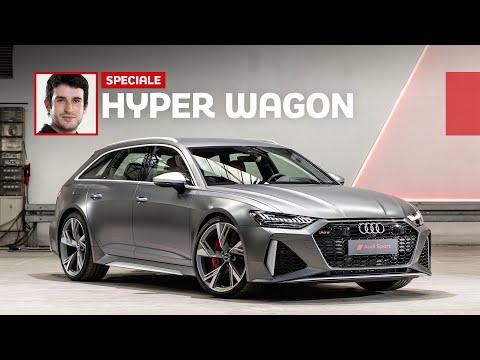 Nuova Audi RS 6 Avant, missile da 600 CV formato famiglia