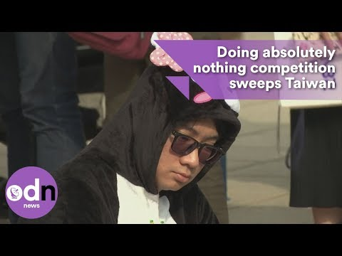 Doing absolutely nothing competition sweeps Taiwan
