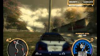 Need For Speed Most Wanted  pursuit level 4,5 and 6