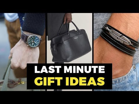 10 Best Last Minute Gift Ideas for Men | Gift Guide for Guys | Alex Costa
