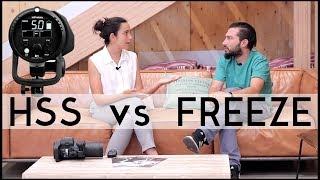 Fotografía con flash - HSS vs FREEZE