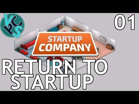 Startup Company EP01 - Return to Startup - Beta 13.5 Software Developer Tycoon Gameplay